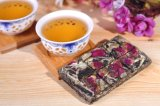 Chocolate Type PU Er Tea with Lovely Rose Flavor in Gift Box