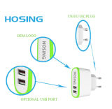 Dual USB Cellphone Charger Adapter for iPhone Universal Wall Charger