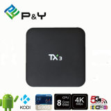 OEM/ODM Factory Price Android 5.1 Tx3 S905 1g 8g Android TV Box Quad Core Set Top Box Media Player Smart TV