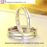 Europe Quality Engagement Wedding Band Sterling 925 Italian Silver Ring