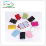 Personalized Logo Print Leather Business Card Holder