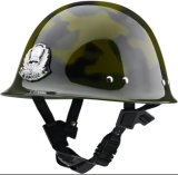 Plastic Police Duty Safety Helmets