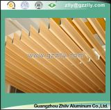 Wood Grain Water Dripping Aluminum Ceiling for Outdoor Decoration