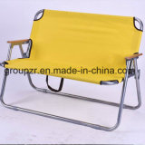 Metal Outdoor Folding Double Chair