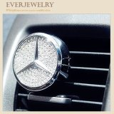 Car Air Freshener Perfume Diffuser Air Dashboard Clip Diamond Plated
