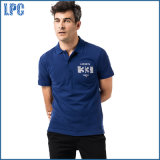 Blue Casual and Comfortable Cotton Men Polo Shirt