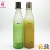 Green, Orange Color OEM Glass Bottle for Lotion