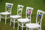 New Hot Sale Popular Resin Cross Back/X Back/Vineyard Chair