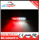 Super Thin Warning Grille LED Surface Mounts Lights Red/White