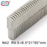 High Performance NdFeB Arc Shape Magnet