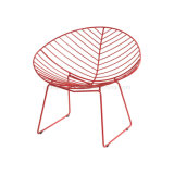 Leisure Style Arper Leaf Sled Base Lounge Wire Chair (SP-MC003)