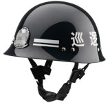 Shining Police Patrol Helmet with Badge