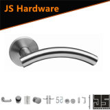 High Quality Stainless Steel Door Tube Handle with Rose