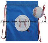 Foldable Draw String Bag, Football, Convenient and Handy, Sports, Promotion, Accessories & Decoration, Lightweight, Leisure