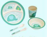 Eco-Friendly Bamboo Fiber Kids Dinnerware Sets (YK-BS1004)