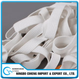 Rubber Cord White Dust-Proof Face Mask Wide Flat Elastic Rope