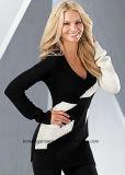 OEM Women Fashion Round Neck Long Sleeve Sweater Clothes