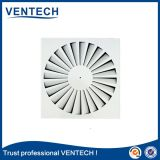 HVAC Aluminum Metal Swirl Diffuser Air Outlet Square Air Diffuser