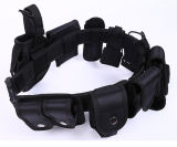 Whole Selling Police Multifunctional Nylon Black Police Tactical Belt
