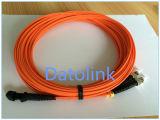 Jumper MTRJ/PC-ST/PC mm Om1 62.5/125 Duplex 17m LSZH 2.0mm