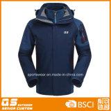 Men′s 3 in 1 Sport Waterproof Warm Jacket