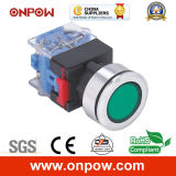 Onpow 30mm Push Button Switch (LAS0-K30-11/R/12V, CE, CCC, RoHS)