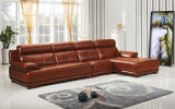 Pinyang New Arrival Luxury Nubuck Leather Sofa Set L. P2808