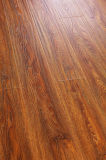 Commercial 8.3mm Embossed Hickory Waxed Edge Laminated Flooring
