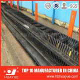 Vertical Angle Black Sidewall Rubber Conveyor Belt