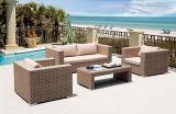 100% Hand Wicker Patio Sofa Outdoor Furniture Garden Sofa