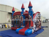Hot Sale Inflatable Avengers Theme Bouncy Castle for Kids
