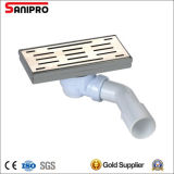 Side Outlet Drain Without Flange-Plastic Siphon Pipe
