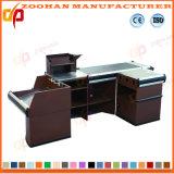 Metal Supermarket Shop Checkout Stand Counter Cash Desk Table (Zhc53)