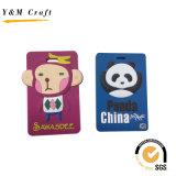Customized Colorful PVC Luggage Tag (YM009)