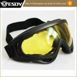 Airsoft X400 Tactical Wind Dust Protection Goggles Motorcycle Glasses Yellow