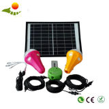 2PCS Bulbs Solar Lamp, Remote Control Mobile Power Supply
