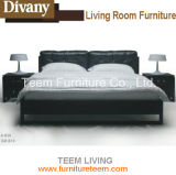 Modern King Size Bed of Simple Style