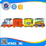 Wood Train on The Wall Metope Toys