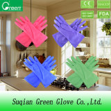 Cheap Household Colored Cleaning Gloves