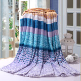 Flannel Fleece Printed Polyester Blanket