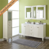 Fed-1828 China 60 Inch Double Sinks Modern White Bathroom Furniture