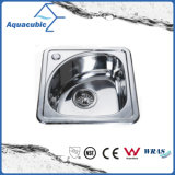 Aquacubic Moduled Stainless Steel Kitchen Single Bowl Sink (ACS3835B)