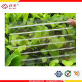 UV Coated Polycarbonate Hollow Greenhouse Roofing Sheet (YM-PC-008)