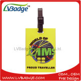 High Quality Plastic Promotional 3D PVC Luggage Tag