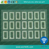 High Frequency 13.56MHz RFID Card Inlay/Prelam in Layout 3X7