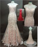 Lace Wedding Dress China Bridal Dresses with Much Beading