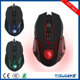 New Style Sades Optical LED 6 Buttons Backlight Wired Gaming Mouse