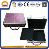 New Design Aluminum Makeup Case with One Tray (HB-2005)