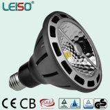 Dimmable 110V/230V 98ra 2500k 20W 1400lm PAR38 Lamparas (leisoA)