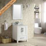 Fed-1981A 24 Inch Wholesale Marble Top Commercial Modern White Bathroom Vanities